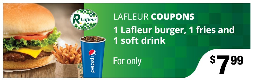 Coupon burger Lafleur